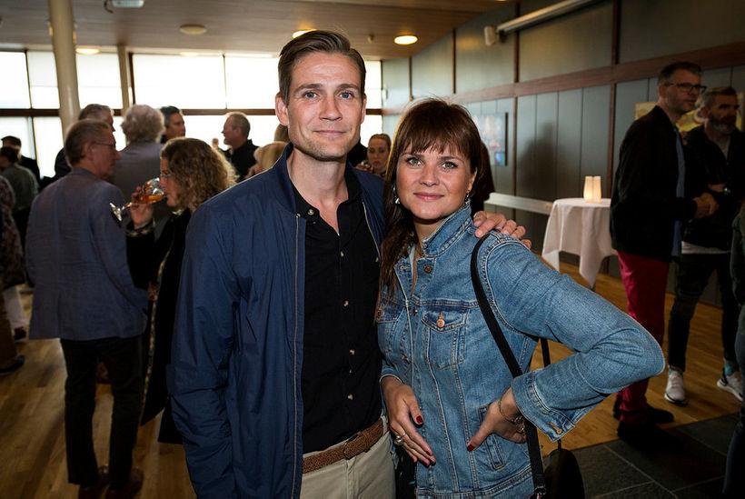 Hallgrímur Björnsson og Helga Vilmundardóttir.