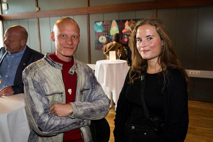 Tómas Lemarquis og Erna Sólrún Haraldsdóttir.