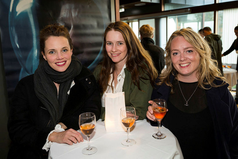 Lára Jóhanna Jónsdóttir, Þorbjörg Helga og Katrín Björgvinsdóttir.