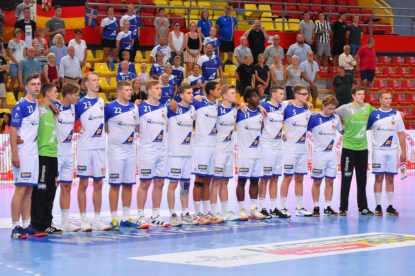 U19-landsliðið í Skopje.