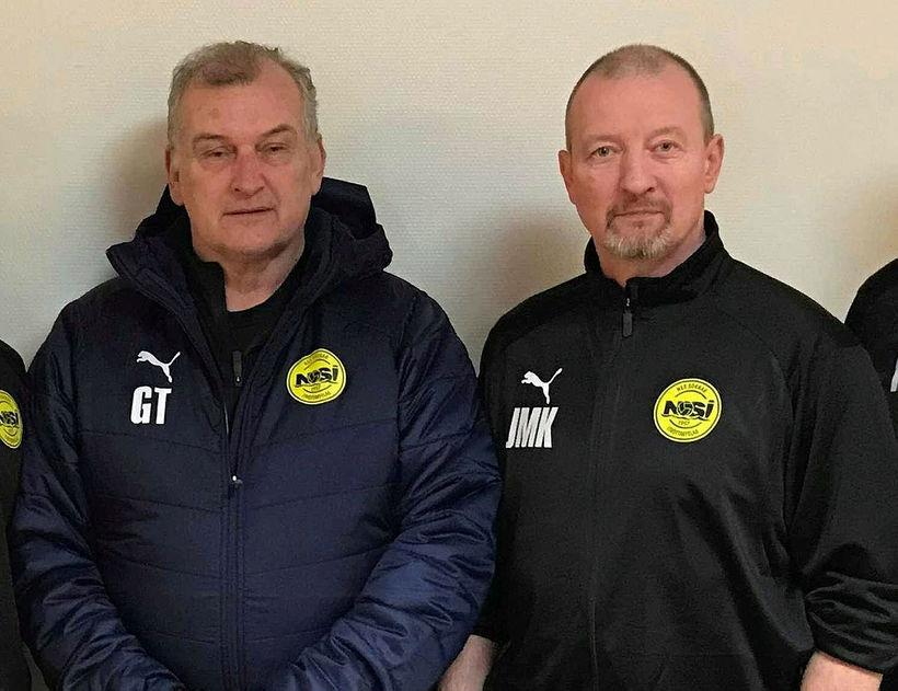 Guðjón Þórðarson og Jens Martin Knudsen eru að gera góða ...