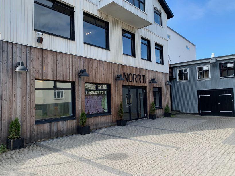 NORR11 á Hverfisgötu 18A. Hér opnar Húrra Reykjavík, karla og …