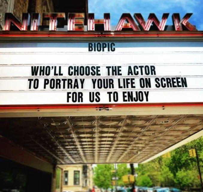 Nitehwk Cinema í Brooklyn er í uppáhaldi hjá Sigríði Maríu.