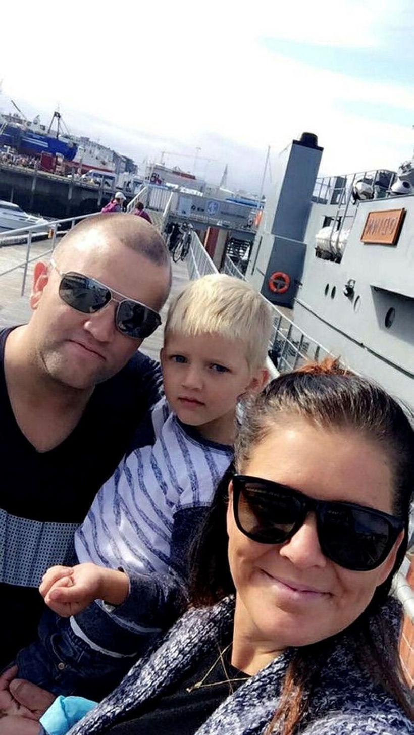 Halldór Halldórsson, Arnar Breki Halldórsson og Agnes Barkardóttir.