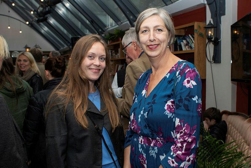 Álfrún Helga Örnólfsdóttir og Ólöf Ingólfsdóttir.