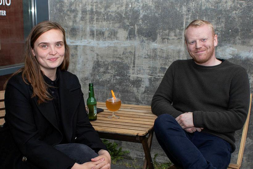 Halla Guðrún Jónsdóttir og Patrekur Smári Þrastarson.