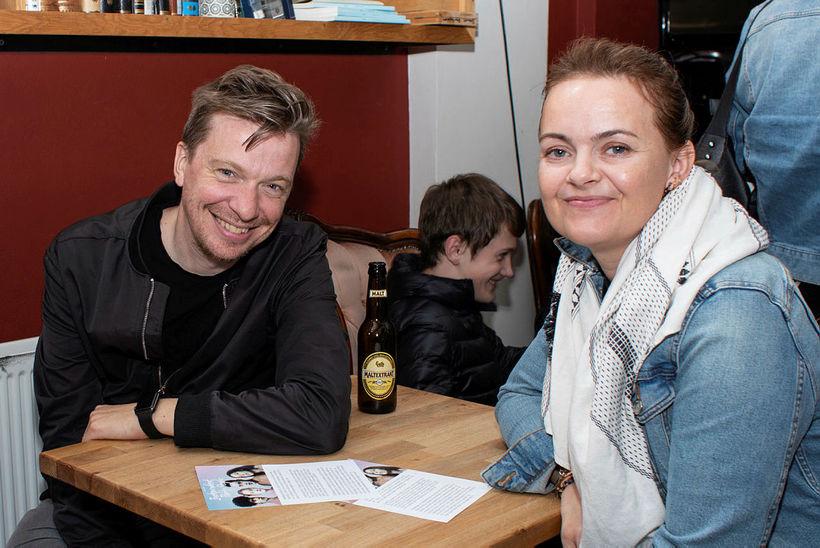 Baldvin Zophoníasson og Heiða Sigrún Pálsdóttir.
