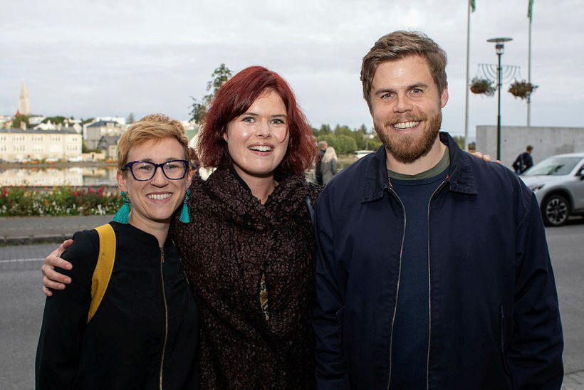 Brogan Davison, Sigríður Sunna Reynisdóttir og Pétur Ármannsson.