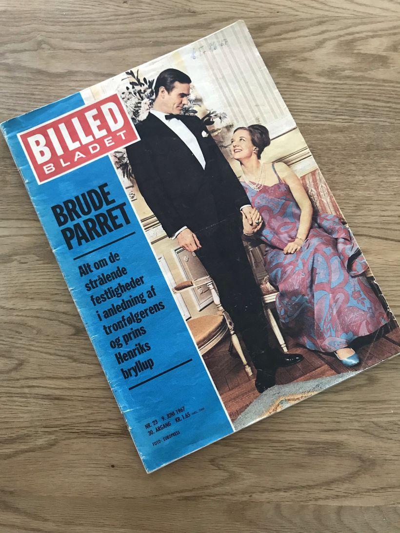 Eintak af Billedbladet frá 9. júní 1967. Í blaðinu er ...