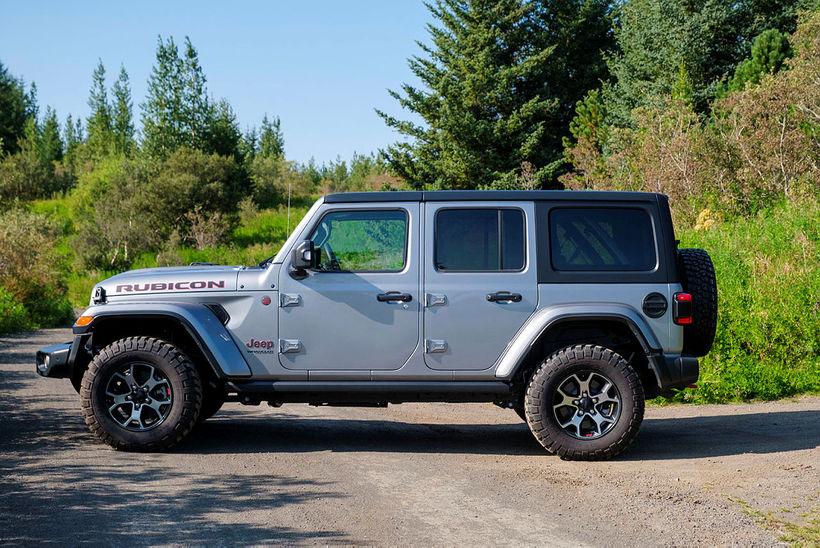 Jeep hefur sent frá sér nýjan Wrangler Rubicon, sem er …