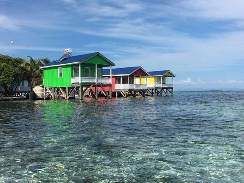 Gistiaðstaðan í Belize er ekki slorleg. Heppinn plokkari mun dvelja …