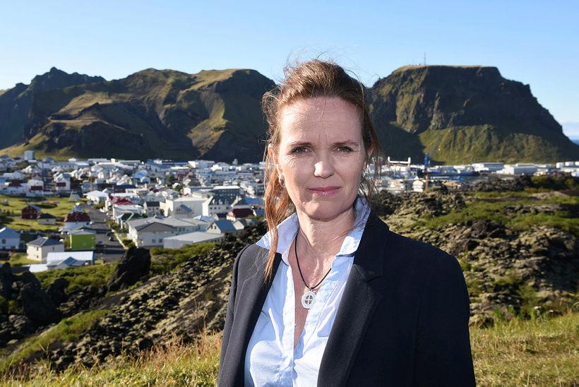 Íris Róbertsdóttir, bæjarstjóri Vestmannaeyja.