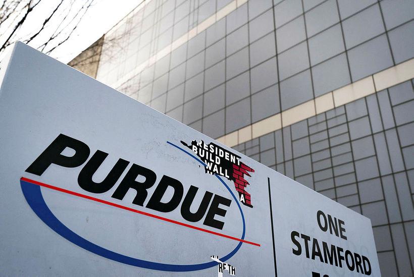 Purdue Pharma-lyfjafyrirtækið.