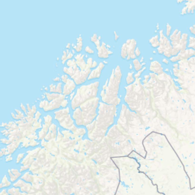 Þyrlan hrapaði í fjallendi í norðurhluta Noregs í gær en ...