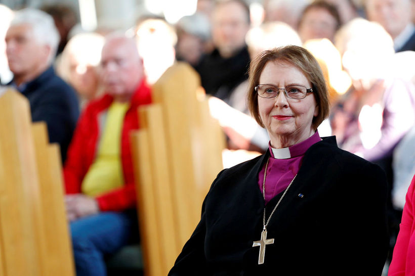 Biskup Íslands, Agnes M. Sigurðardóttir.