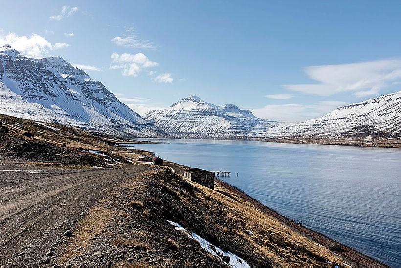 From Seyðisfjörður.