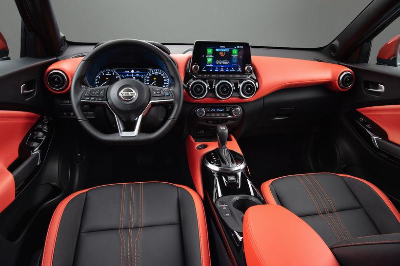 Vinnurými bílstjóra hins nýja Nissan Juke.