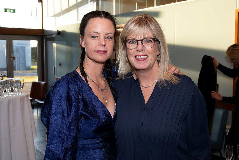 Sunna Guðnadóttir og Berglind Ólafsdóttir.