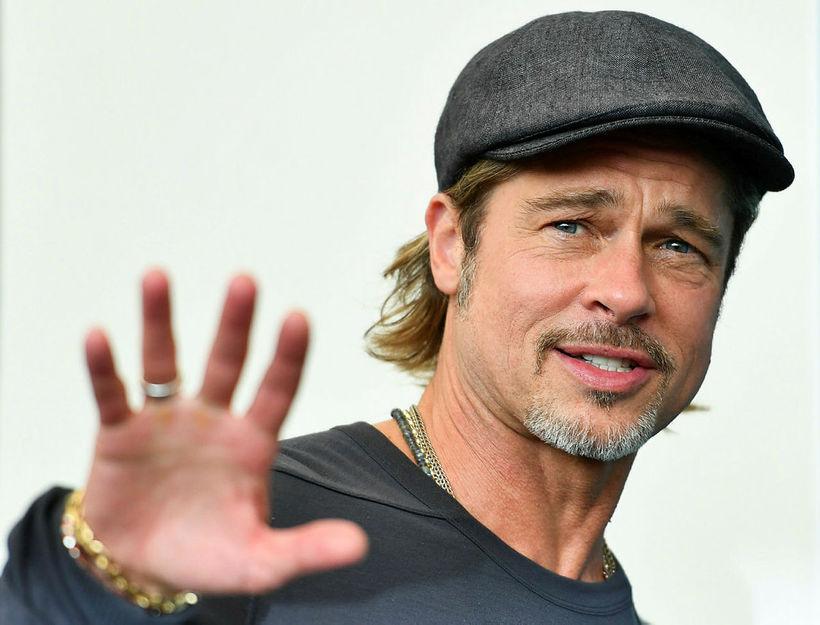 Brad Pitt hætti að drekka.