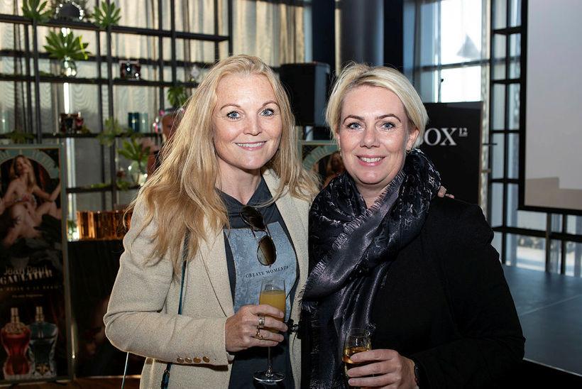 Tinna Ólafsdóttir og Þorgerður Þráinsdóttir.
