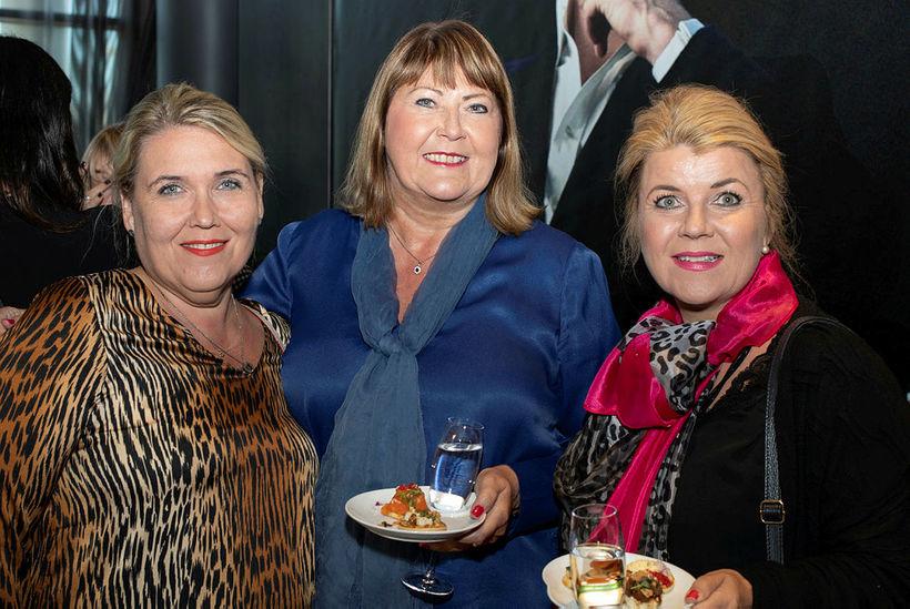Ragnheiður Ólafsdóttir, Guðbjörg Haraldsdóttir og Sigrún Inga Sigurgeirsdóttir.