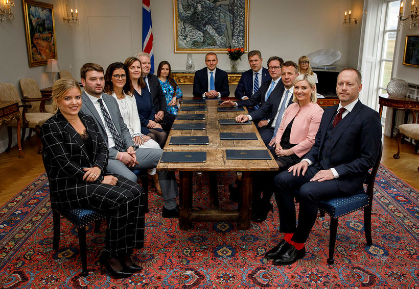 The Icelandic government, along with President Guðni Th. Jóhannesson. Only …
