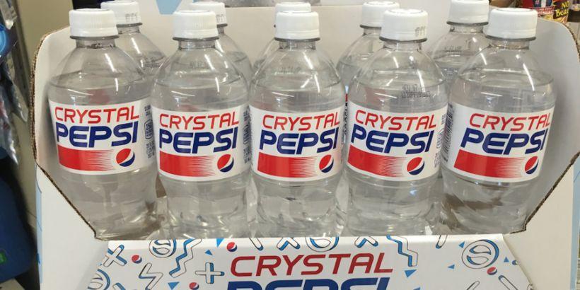 Í kringum 1990 kynnti gosframleiðandinn Pepsi alveg nýja hugmynd að ...