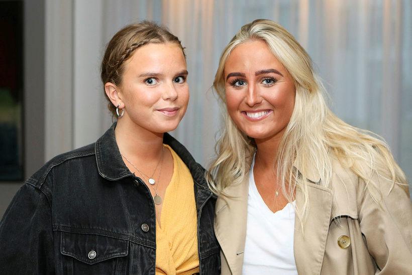 Helga Lárusdóttir og Kristína Reynisdóttir.