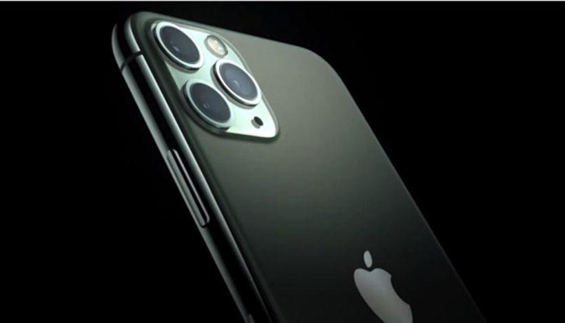 Nýi iphone 11 pro er með 3 myndavélar á bakhliðinni