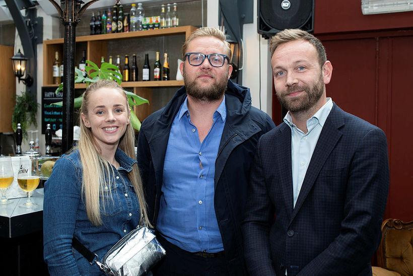 Ylfa Árnadóttir, Þórður Gunnarsson og Andri Ólafsson.