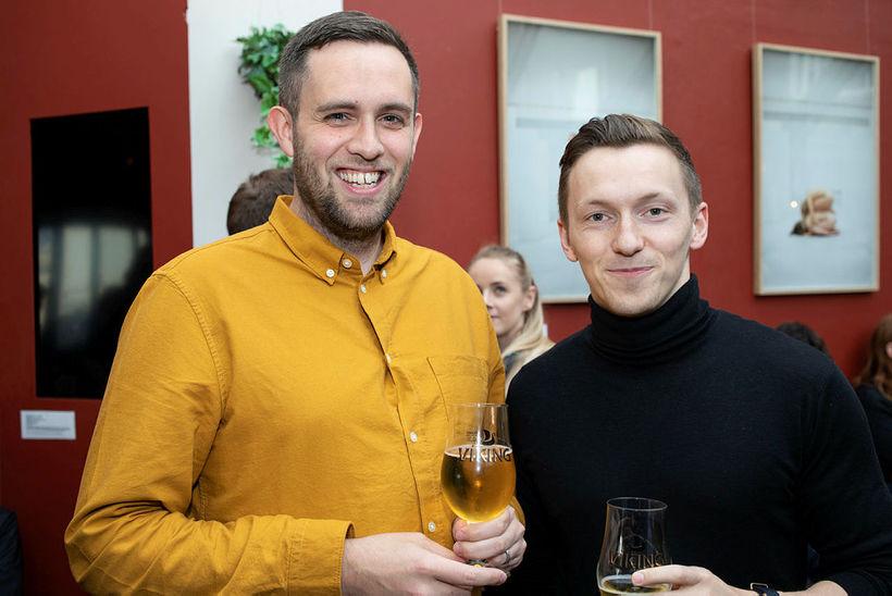 Engilbert Aron Kristjánsson og Arnar Gunnarsson