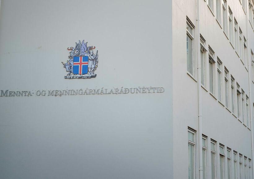 Mennta- og menningarmálaráðuneytið.