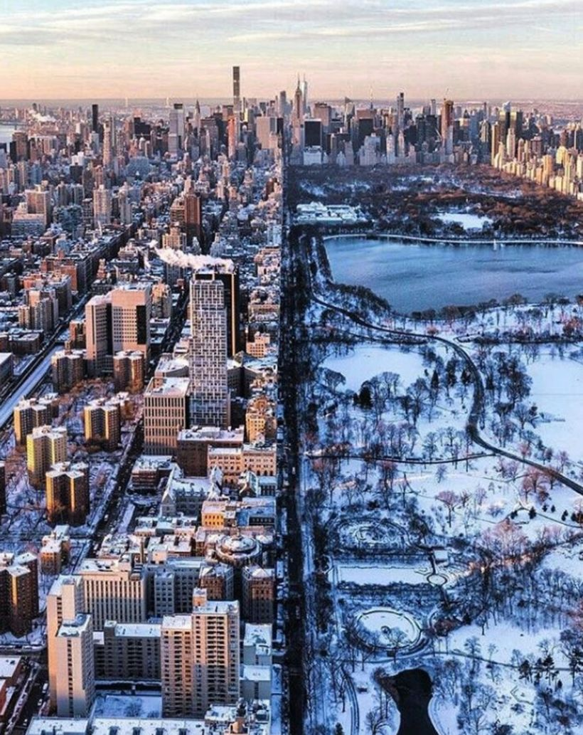 Central Park í New York.