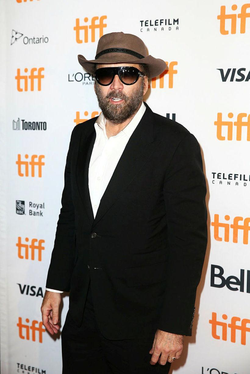 Nicolas Cage þann 7. september í Toronto.