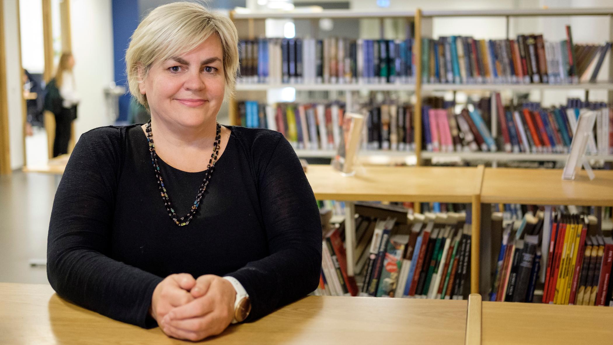 Anna María Þorkelsdóttir, kennsluráðgjafi við Hörðuvallaskóla.