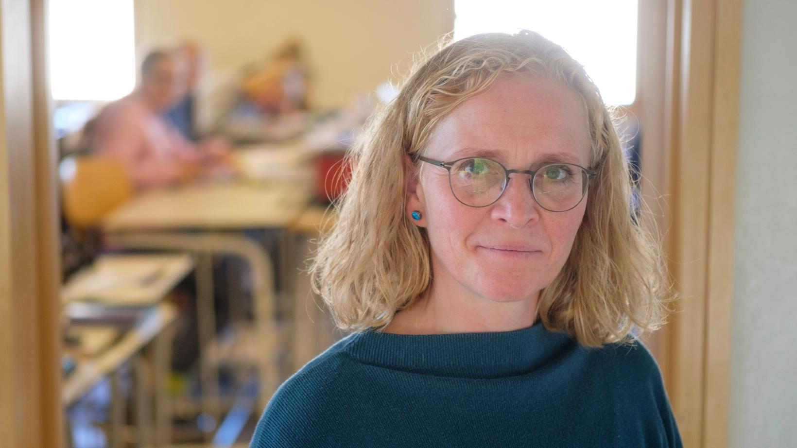 Brynhildur Sigurðardóttir, skólastjóri Garðaskóla.