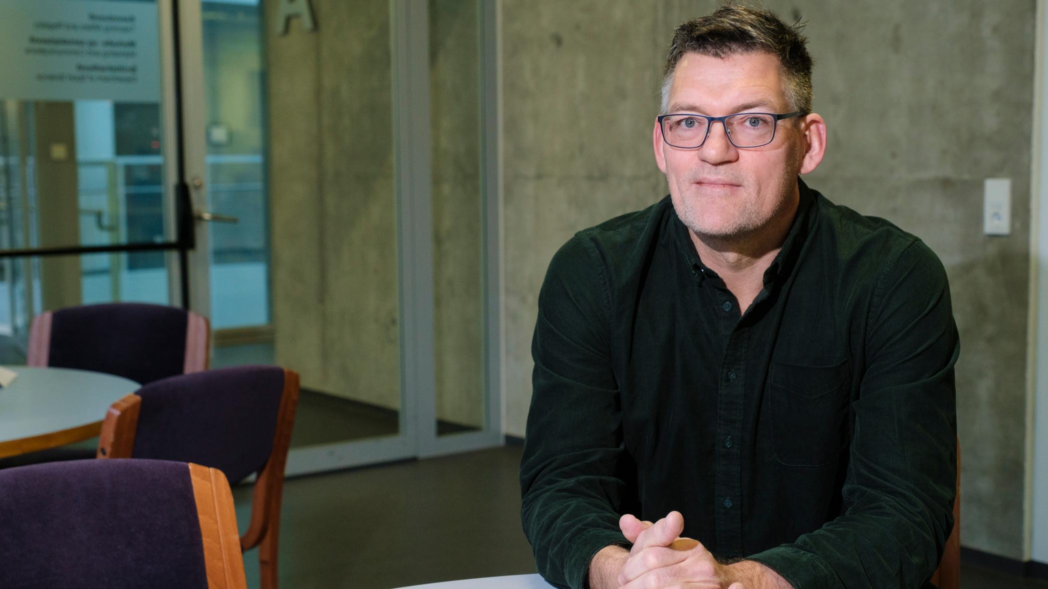 Hermundur Sigmundsson, prófessor í sálfræði við Tækni- og vísindaháskólann í …