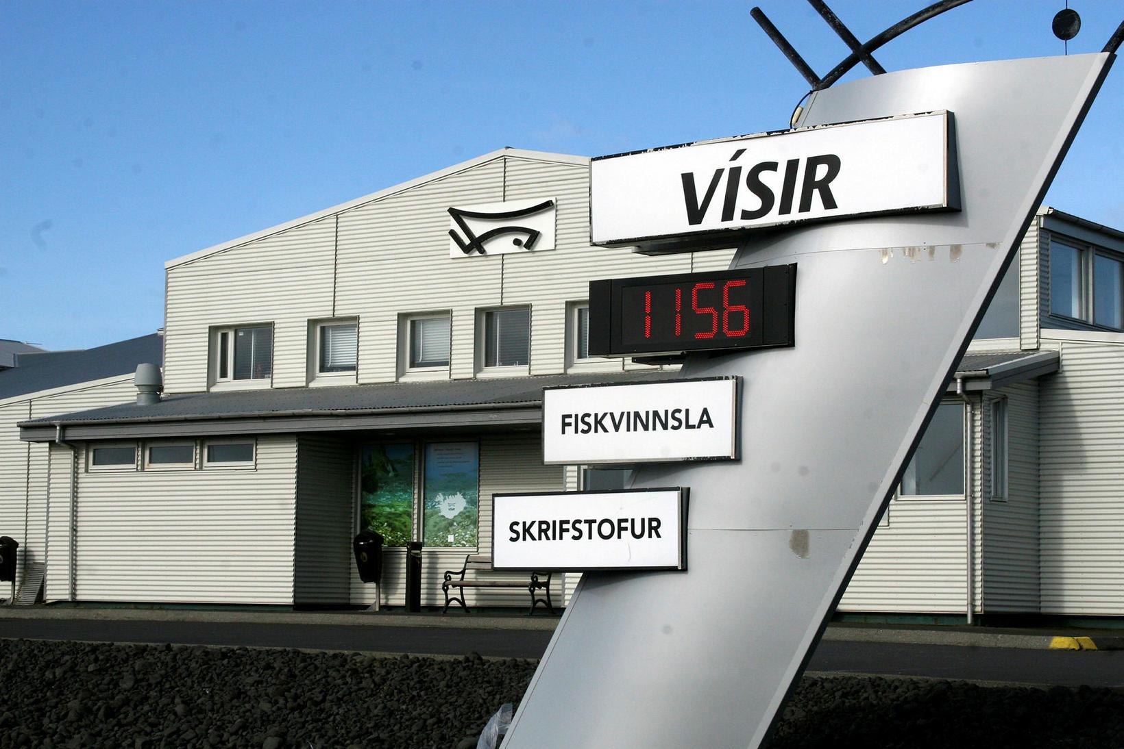Vísir er með umfangsmikla starfsemi í Grindavík.