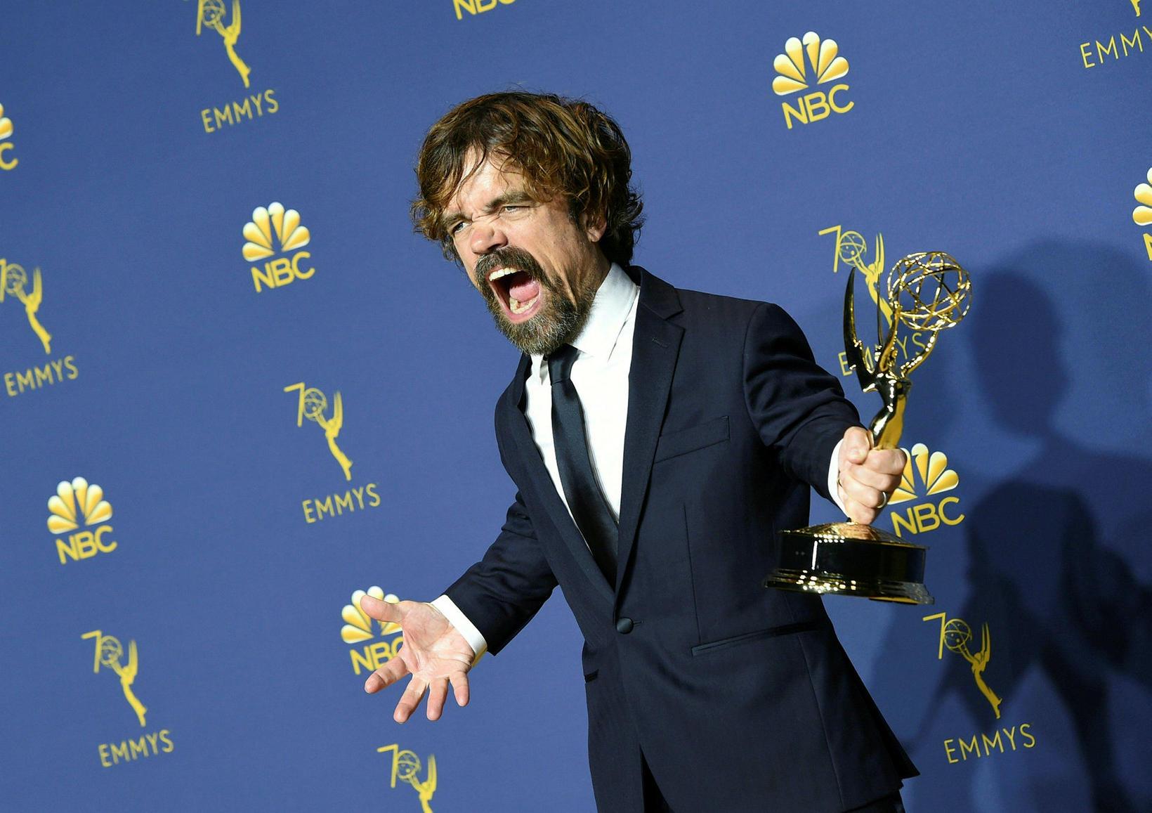 Peter Dinklage, sem lék Tyrion Lannister í Krúnuleikum, hefur þrisvar …