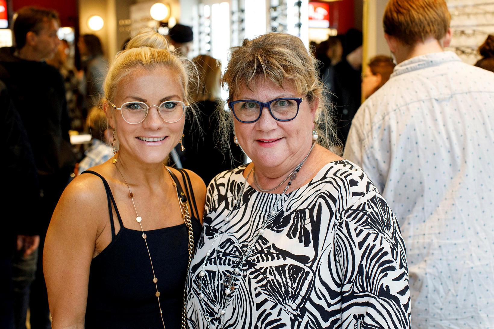 Hulda Guðný Kjartansdóttir og Hulda Fanný Hafsteinsdóttir.