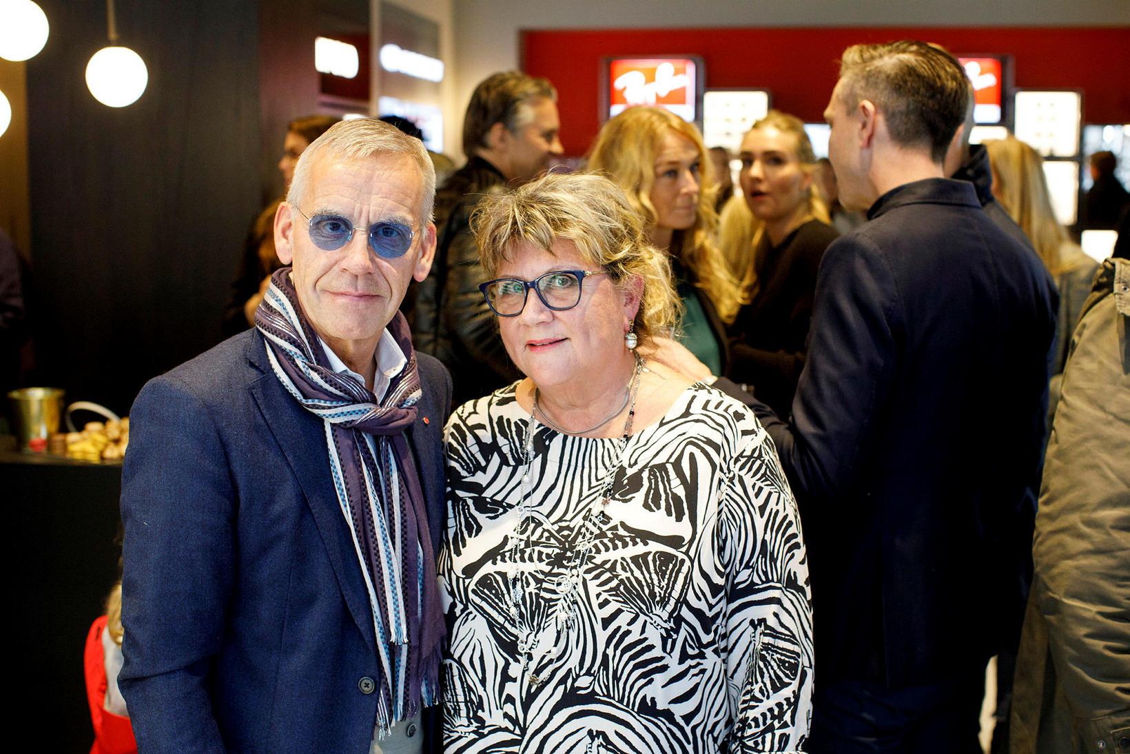 Kjartan Kristjánsson og Hulda Fanný Hafsteinsdóttir reka Optical Studio.