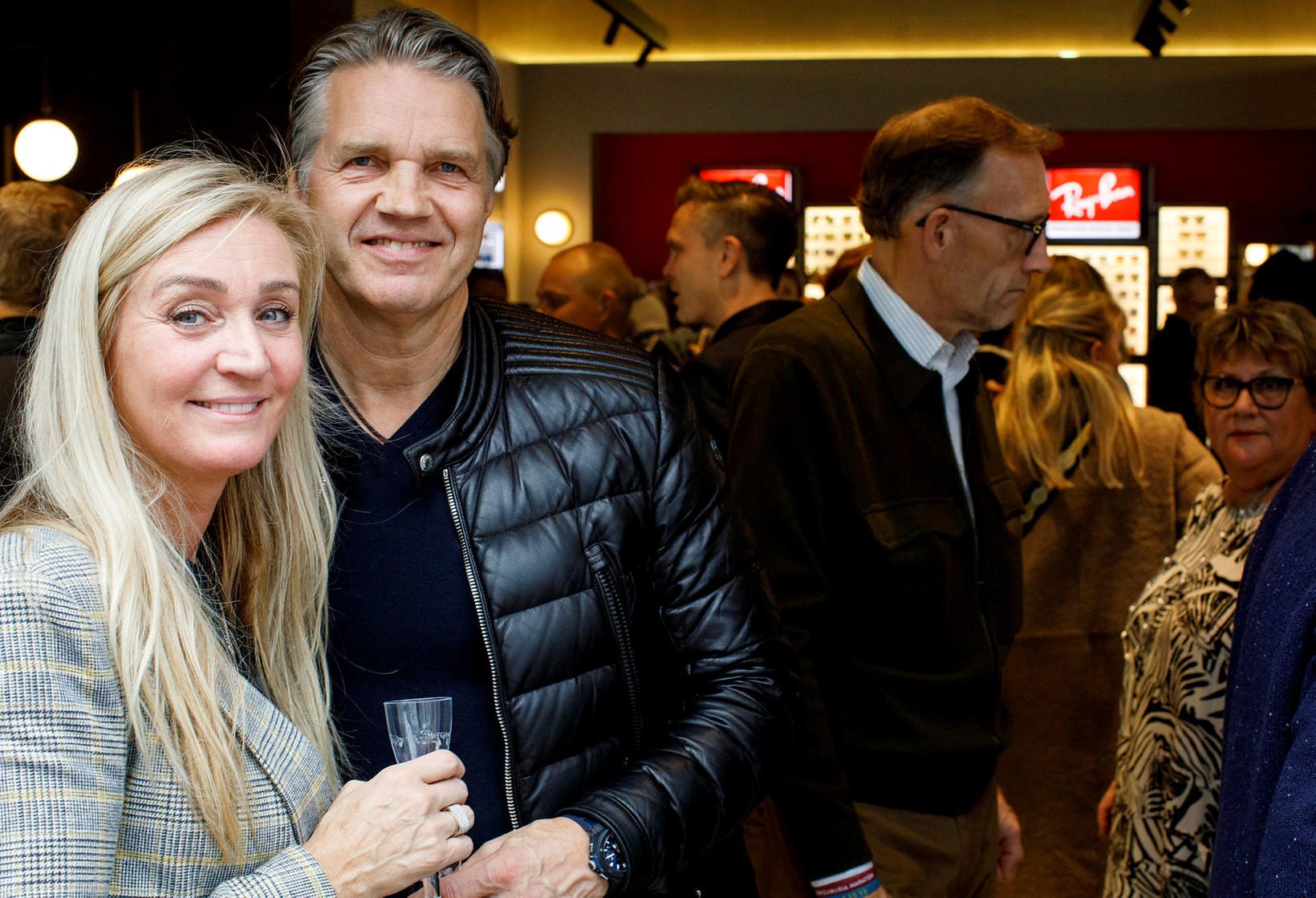 Helga Daníelsdóttir og Sævar Jónsson.