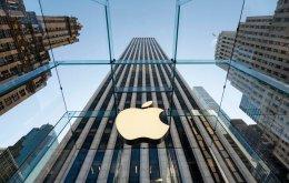 Verslun Apple í New York.