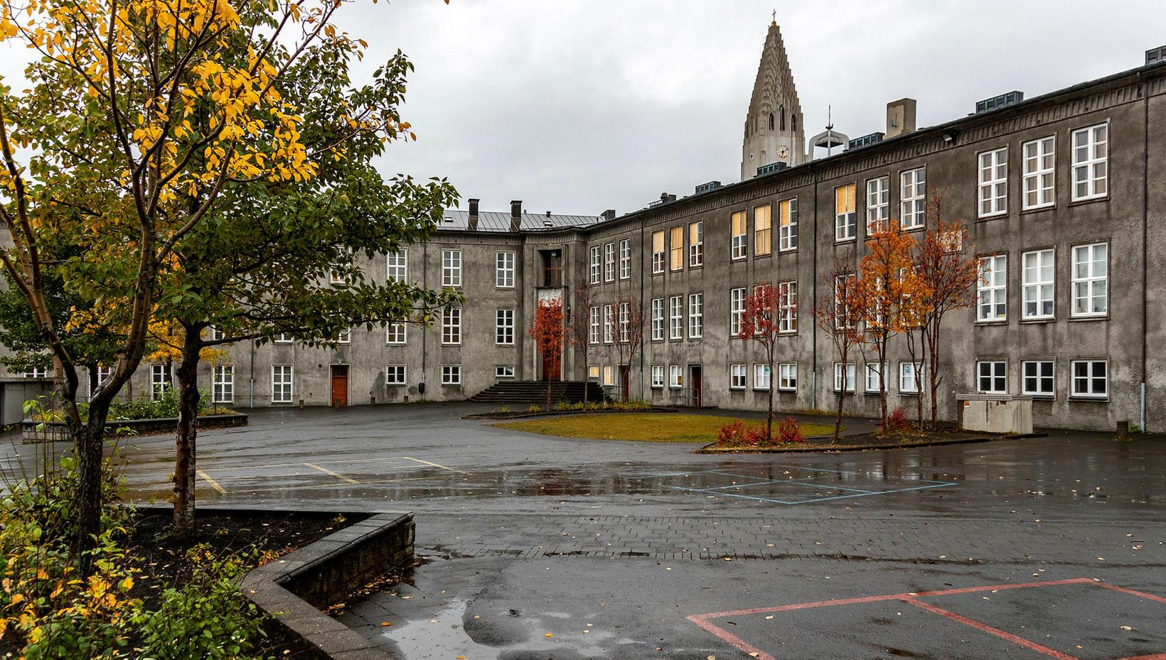 Austurbæjarskóli grade school.