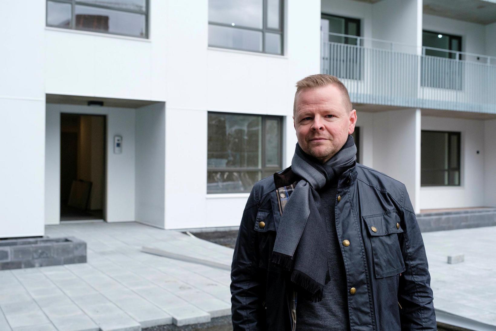 Garðar Hólm segir íbúðirnar henta fjölbreyttum hópi fólks.
