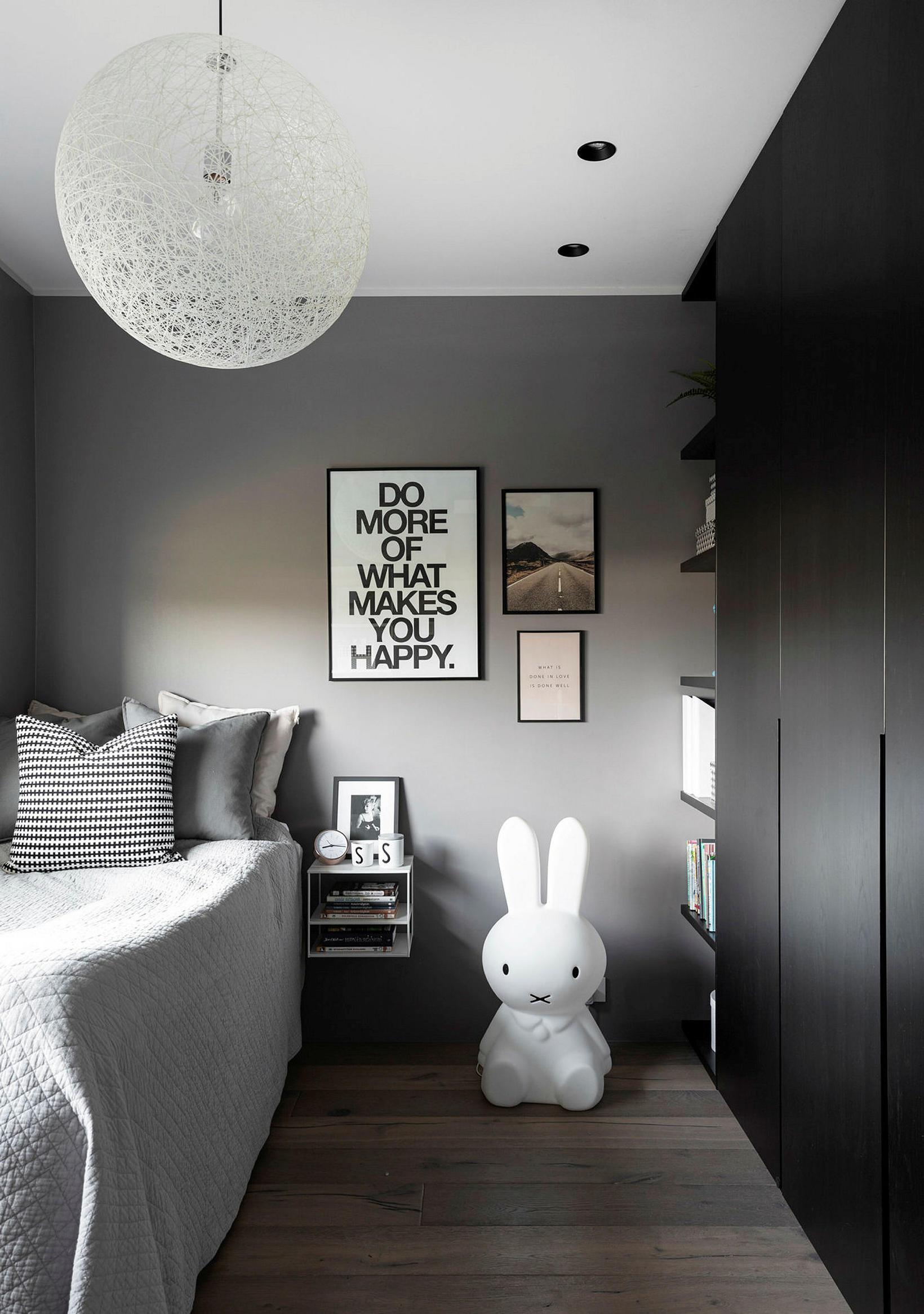 One of the children's bedrooms.
