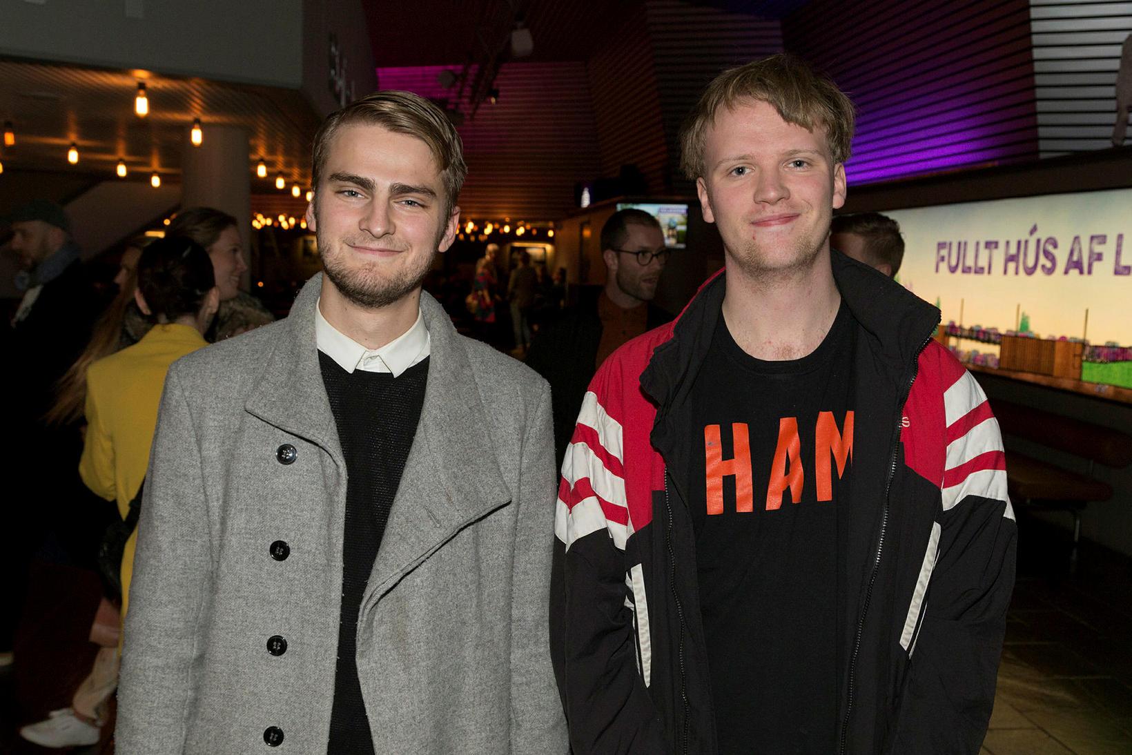 Magnús Thorlacius og Kjartan Logi Sigurðarson.