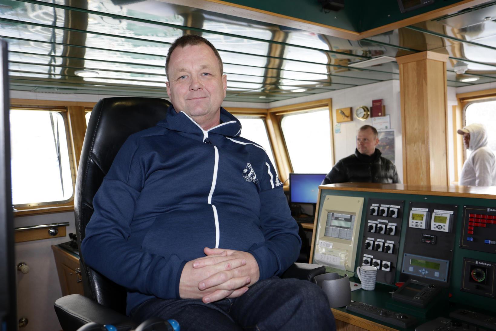 Ómar Þorleifsson er skipstjóri á Sigurborgu SH.