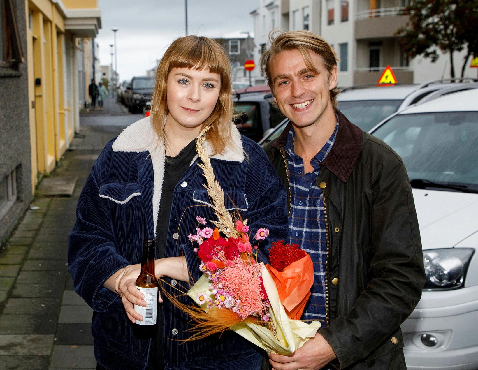 Sif Baldursdóttir og Guðmundur Björnsson.