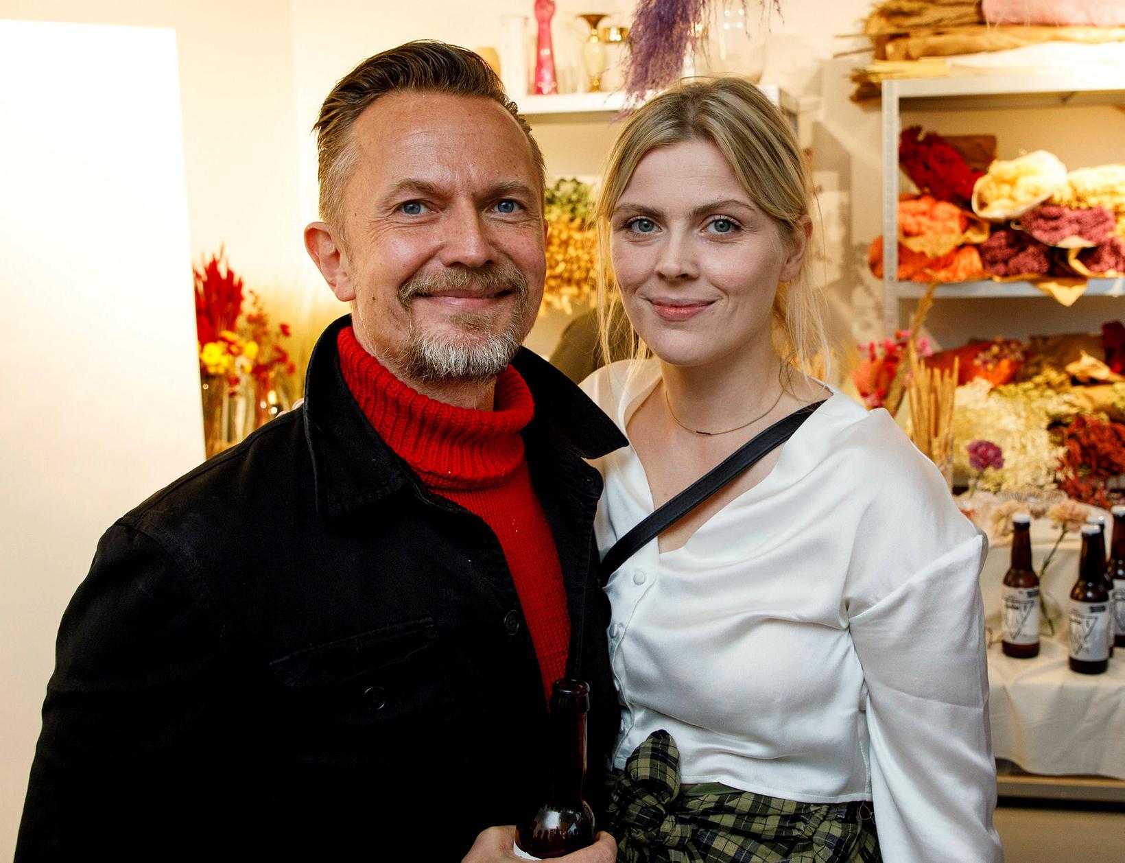 Sindri Freysson og Sigrún Guðmundssdóttir.